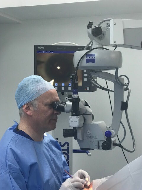 Microscope for Ophthalmology Surgery